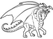 Free Dragon Colouring for Children | Learning Printable