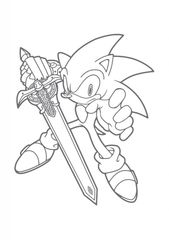Sonic The Hedgehog 2019 Coloring Book | Learning Printable