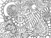 Coloring Pages to Color Online for Adult | Learning Printable
