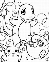 Free Pokemon Coloring Pages to Print Out | Learning Printable