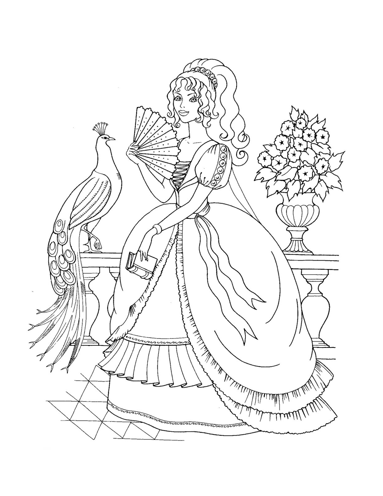 coloring pages disney princesses online - photo#28