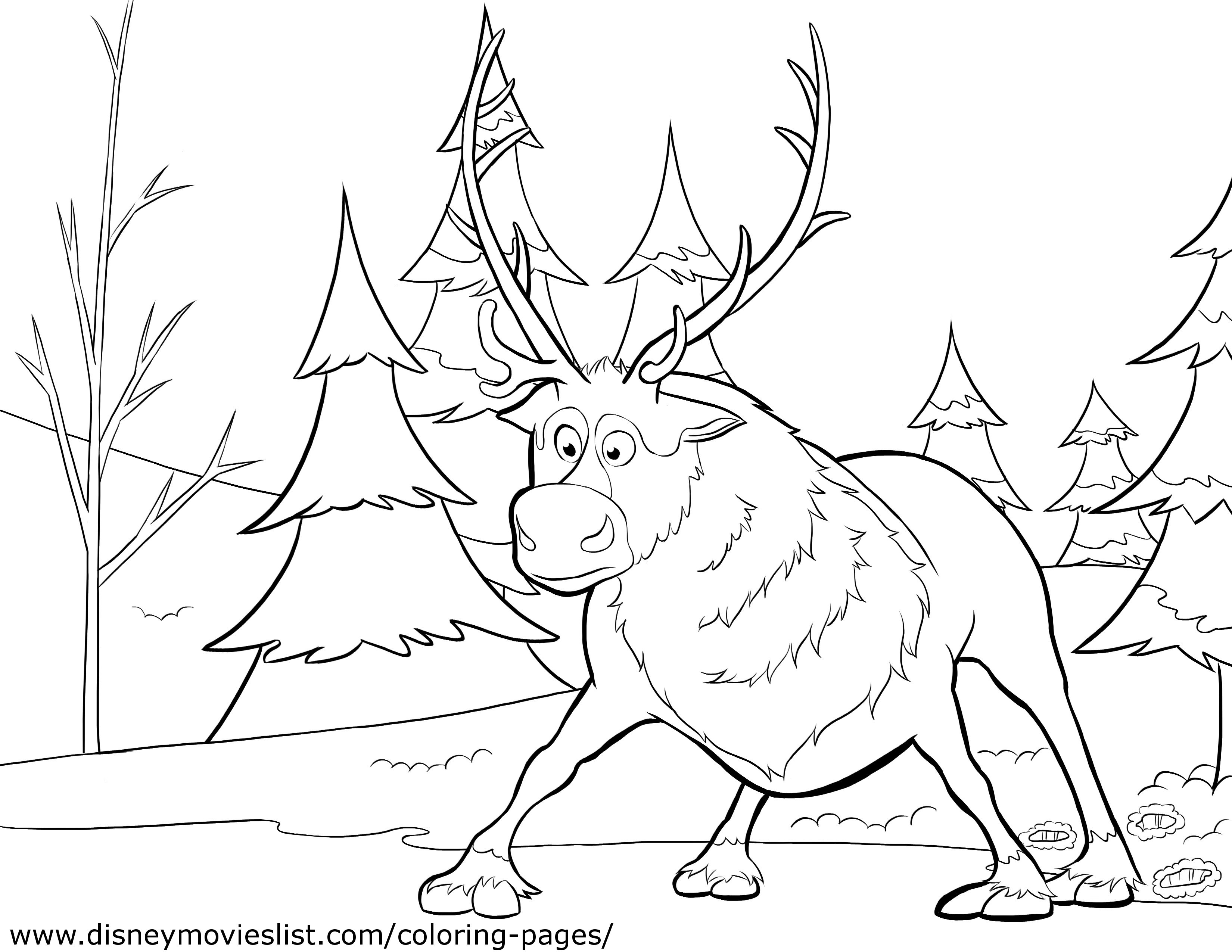 frozen coloring pages 04