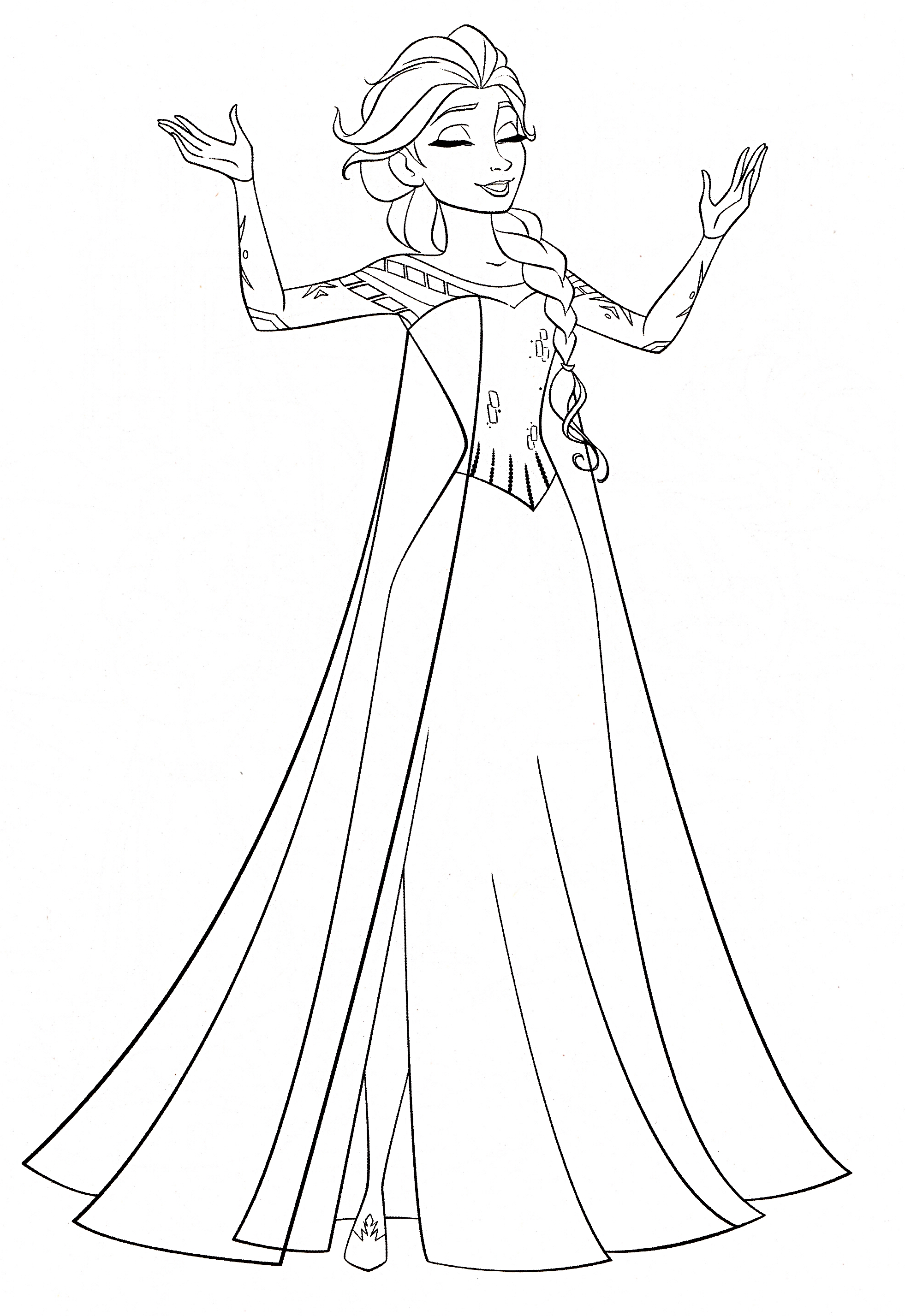 Frozen Coloring Pages Only Coloring