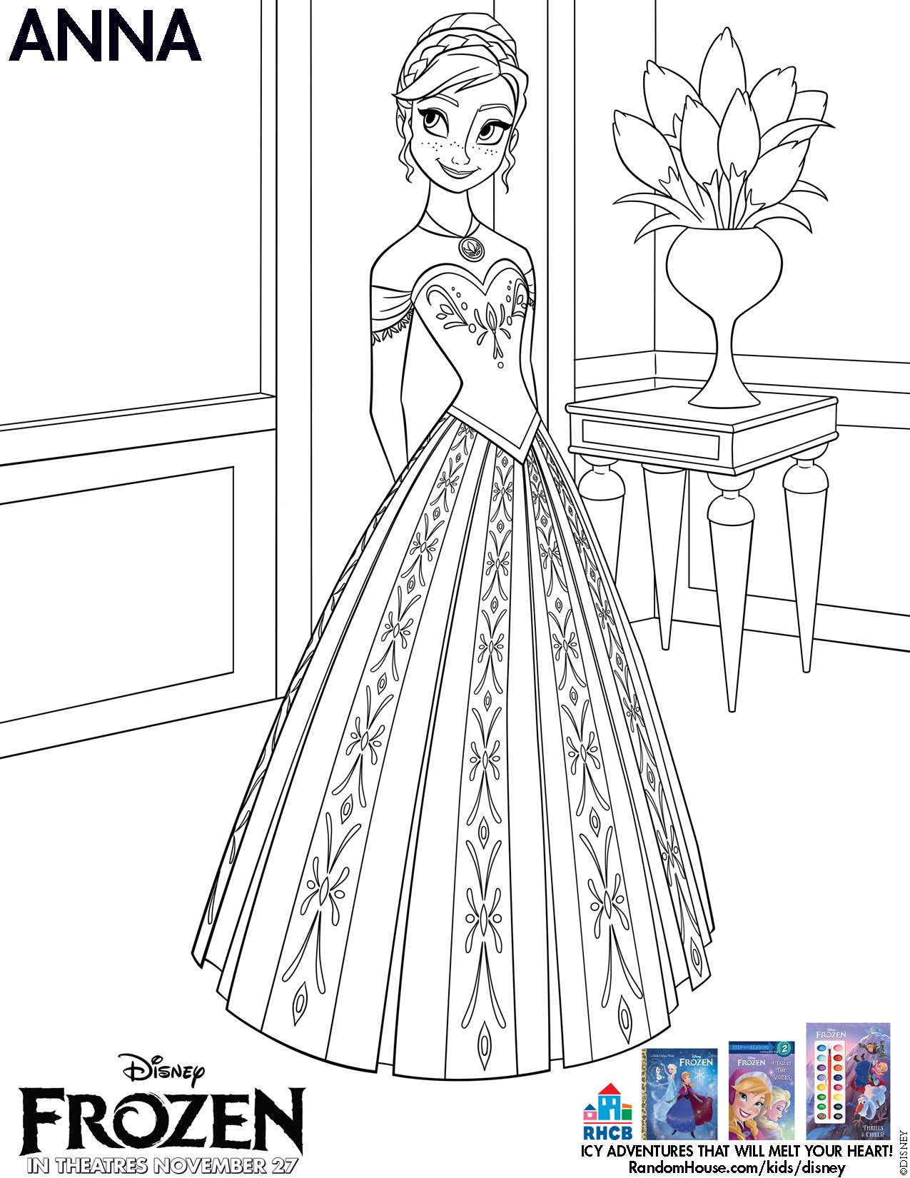 frozen coloring pages 07